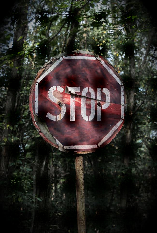 Stop Sign Kristina Tate